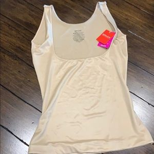 NWT Spanx open bust cami in nude Size M